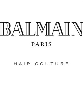 Balmain Paris Hair Couture Logo Large Web